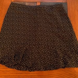 J Crew Printed Star Mini Skirt- Size 8